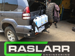 Toyota LandCruiser Prado 120 Raslarr Rear Bar- Custom only, please email for details