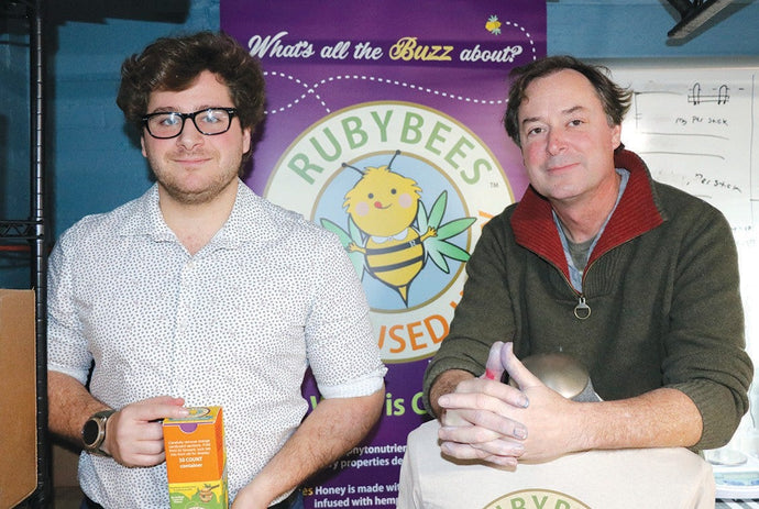 White Lake family's line of hemp-infused honey sticks creates buzz
