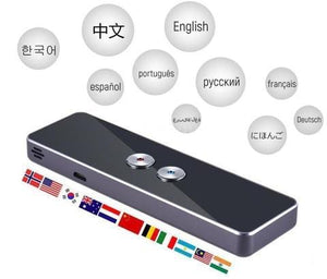 Portable Smart Voice Translator with Two-Way Real Time Multi-Language Translation - Roamify