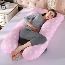 Load image into Gallery viewer, Pregnancy Body Pillow, U-Shaped Maternity Pillow for Pregnant Women with Cooling Cotton Cover. - Roamify