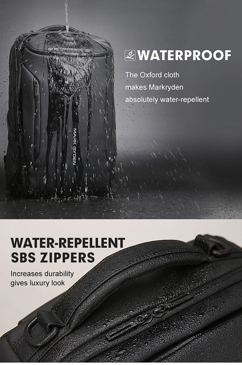 Mark Ryden Water-Repellent, Anti-Theft Laptop Backpack - Roamify