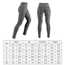 Load image into Gallery viewer, Women's Yoga Pants Running Pants Tights Tummy Control Workout Running 4 Way Stretch Yoga Leggings Tights High Waist with Pocket - Roamify