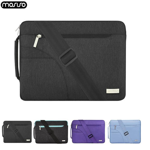 MOSISO Notebook Sleeve Laptop Shoulderbag Briefcase for Macbook Pro Air 11 12 13.3 14 15inch Asus/Acer/HP/Dell Microsoft Surface - Roamify