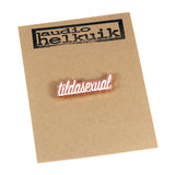 Tildasexual pin in packaging