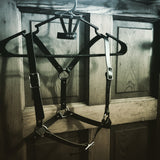 Half-Suspendered Harness --Faux Leather