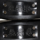 BADASS boot harnesses, close up view