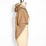 Khaki Hooded Jacket
