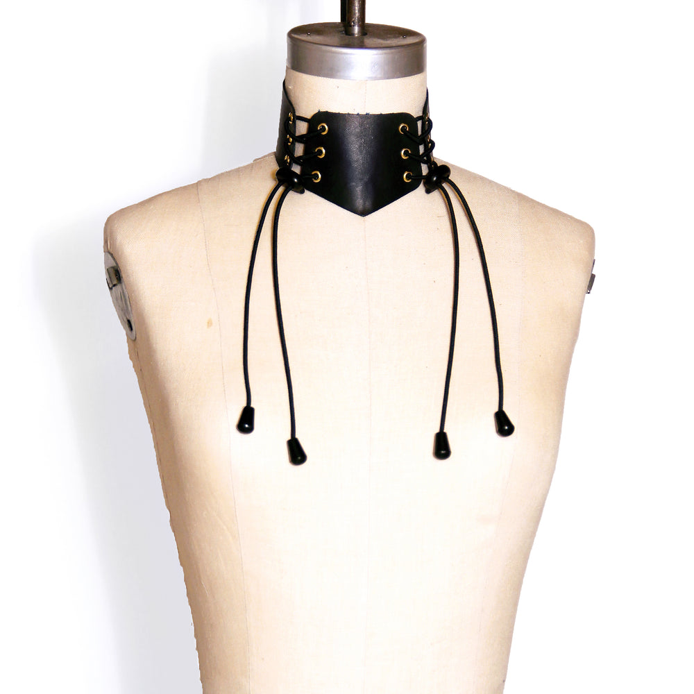 Laced Front Choker