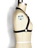 Power Bra Harness -- Faux Leather