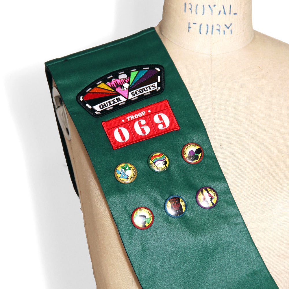Queer Scouts Sash