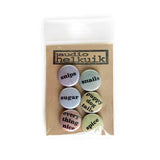 Gender Casserole Pin Set in neutral colors