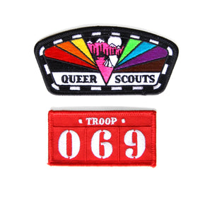 Queer Scouts Patch Set