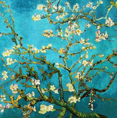 Van Gogh Almond Blossoms