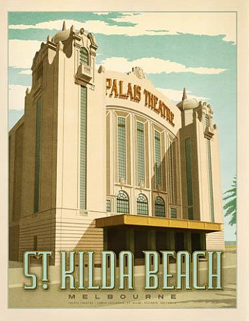 The Palais Theatre, St Kilda - Melbourne