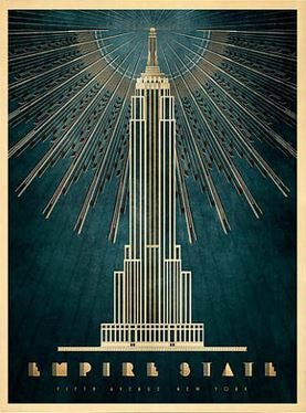 Empire State Building Art Print The Picture Box
