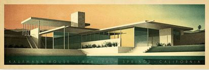 Kauffman House, 1956, Palm Springs, California (Colour)