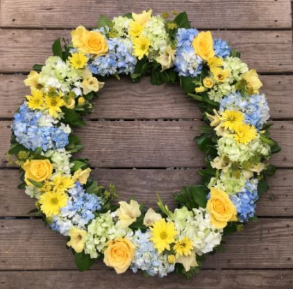 Yellow Fields Wreath