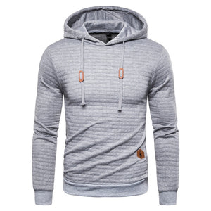 Men's Casual Hooded Pullover Sweatshirt