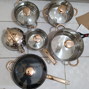 12pcs High-Quality Induction Cookware Set