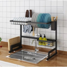 Load image into Gallery viewer, DISH RACK DRAINER & ORGANIZER