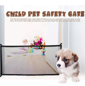 Child & Pet Mesh Safety Gate