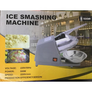HEAVY-DUTY ELECTRIC ICE CRUSHER