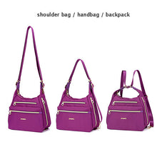 Load image into Gallery viewer, 3-WAY Double Side Nylon Shoulder Bag