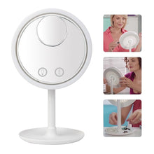 Load image into Gallery viewer, LED Lighted Beauty Makeup Mirror with Fan