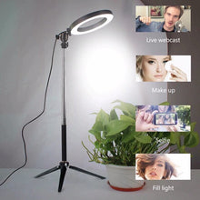 Load image into Gallery viewer, Dimmable LED Ring Light Selfie