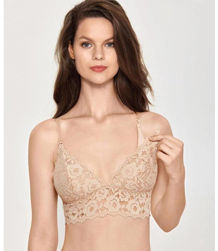 Women's Lace Nursing Bra