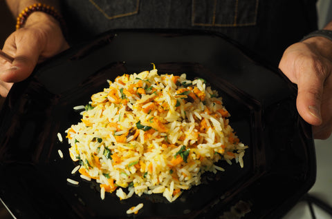Orange and Star Anise Rice