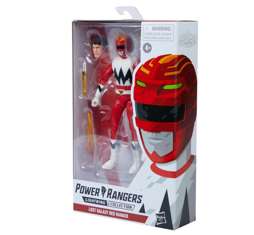 Hasbro Power Rangers: Lightning Collection - Lost Galaxy Red Ranger