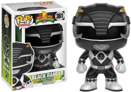 Funko Pop! Television : Power Rangers - Black Ranger