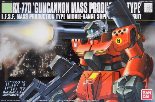 Bandai Hobby Gundam 0080 - #44 RX-77D Guncannon Mass Production Type HG Model Kit