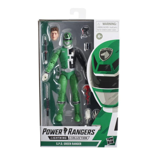 Hasbro Power Rangers: Lightning Collection - S.P.D. Green Ranger