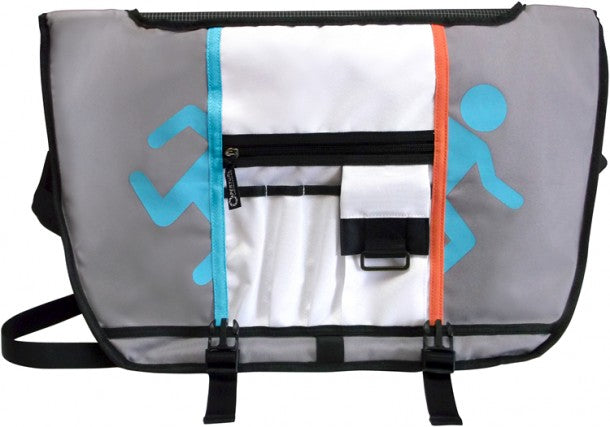 Portal 2 Aperature Messenger Bag