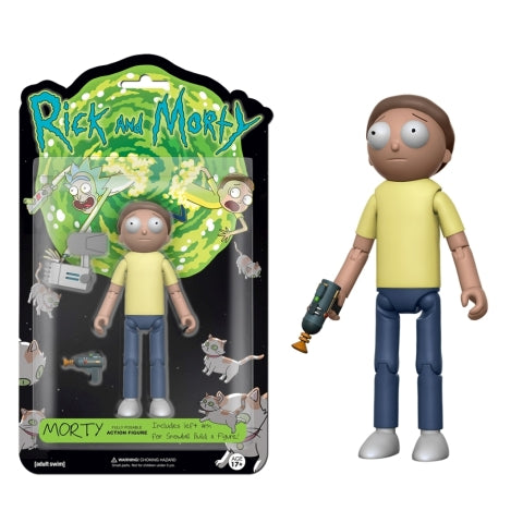"Funko: Rick and Morty - Morty 5"" Articulated Figure"