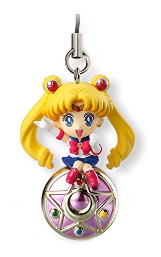 Bandai Shokugan Sailor Moon Twinkle Dolly (Volume 1) - Sailor Moon with Crystal Star Deformed Mascot Charm