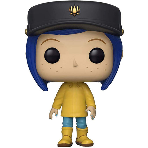 Funko Pop! Movies: Coraline - Coraline in Raincoat (Chase Variant)