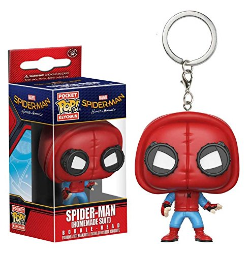 Funko Pop! Keychain: Spider-Man Homecoming - Spider-Man Homemade Suit