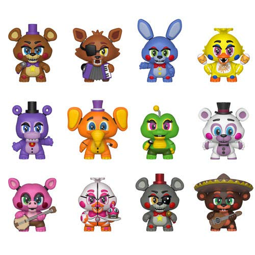Funko Five Nights at Freddy's Pizza Simulator Mystery Mini Blind Box Display (Case of 12)