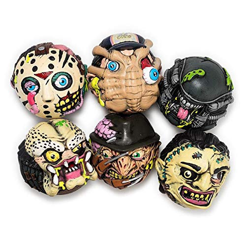 "Madballs Horrorballs 4"" Foam Balls (Set of 6)"