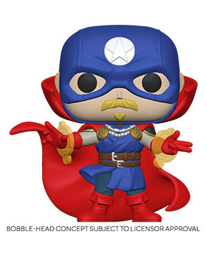 Funko Pop! Marvel: Infinity Warps - Soldier Supreme