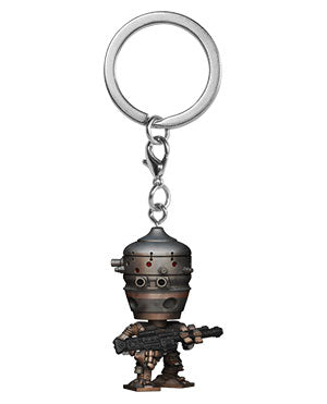 Funko Pop Keychain: Star Wars The Mandalorian - IG-11