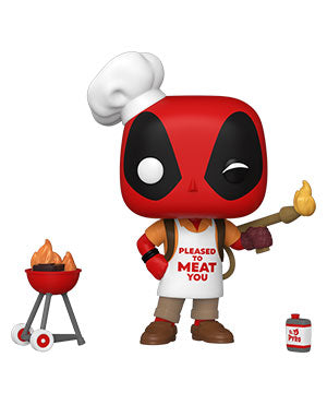 Funko Pop! Marvel: Deadpool 30th - Backyard Griller Deadpool