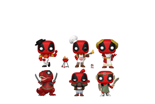 Funko Pop! Marvel: Deadpool 30th (Set of 6)