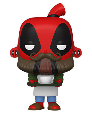 Funko Pop! Marvel: Deadpool 30th - Coffee Barista Deadpool