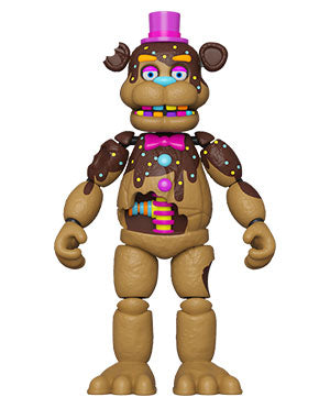 Funko Five Nights at Freddys Articulated Action Figure - Chocolate Freddy