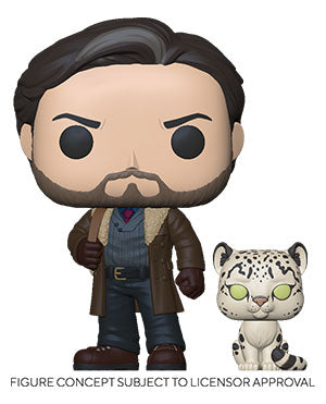 Funko Pop! Television: His Dark Materials -  Asriel With Stelmaria