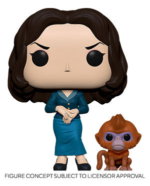 Funko Pop! Television: His Dark Materials - Mrs. Coulter With Daem